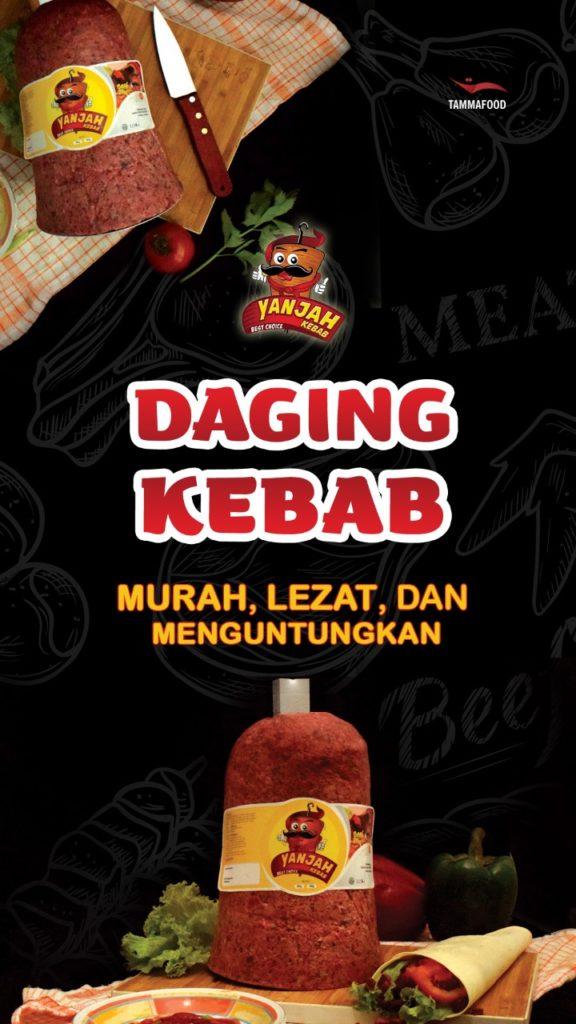 jual daging kebab murah