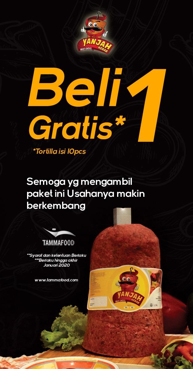 jual daging kebab murah enak kirim se indonesia